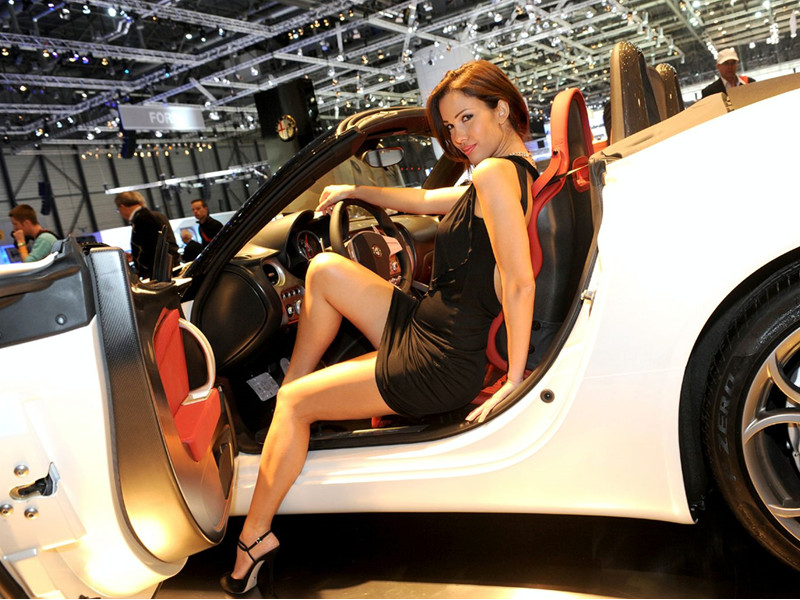 Why an Auto Show Cannot Exist without Cars and Beautiful Models